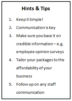 what your staff really want
